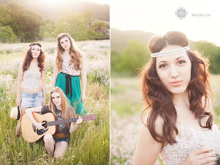 fashion style senior portraits in northern california