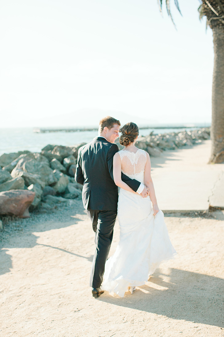 treasure island wedding photos