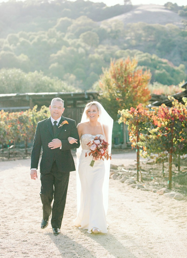 Meg Sexton Photography, Northern California Wedding Photographer, Fall Wedding, Backyard Wedding, Marsala, Gold, Rustic, Romantic, Beauty's Blossoms, Kinsley James Couture Bridal, Monique Lhuillier, Olivia Smartt, Selix Tuxedos, Wilma Lott Catering