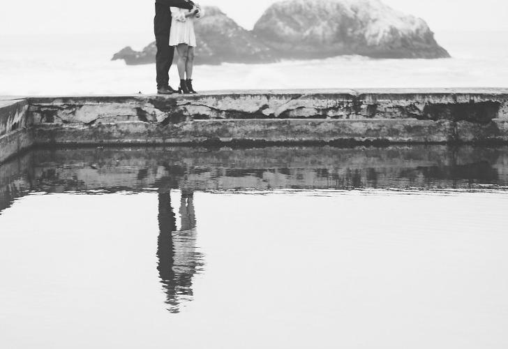 Meg Sexton Photography, Meg Sexton, Northern California Wedding Photographer, engagement shoot, engagement photos, Sutro Baths, San Francisco engagement photographer, romantic, engagement, wedding photographer, outdoor engagement